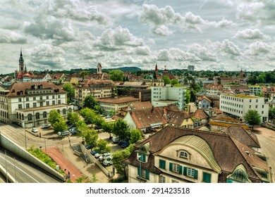 Urban capture of Frauenfeld (Switzerland), HDR-technique