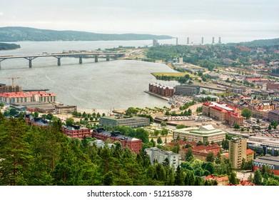 Urban capture of Sundsvall (Sweden), HDR-technique