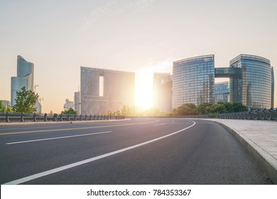 Urban construction and building exterior in Hangzhou China