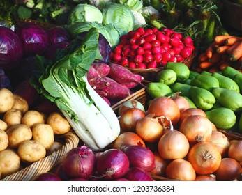Urban Green Market Fresh Vegetables