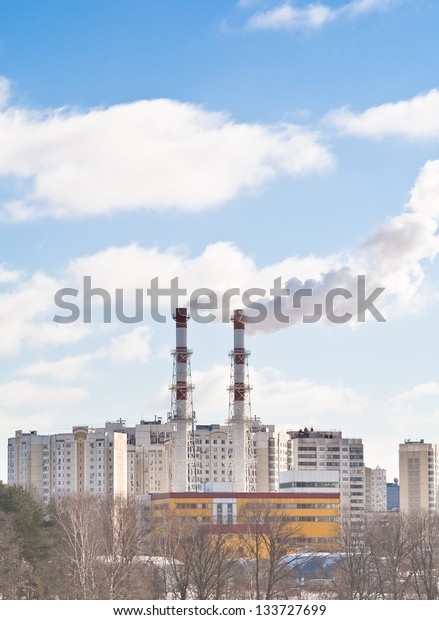 Urban heating station