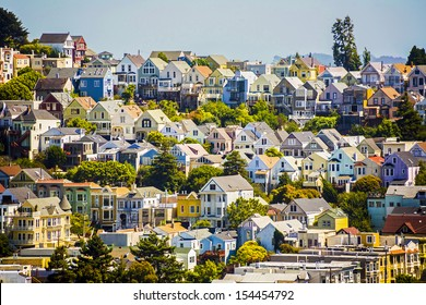 urban houses in San Francisco