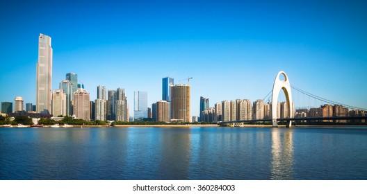 Urban Landscape of Guangzhou,China