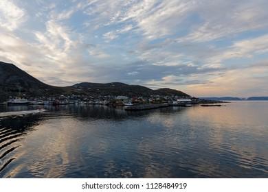 Urban landscape in Norway, Honningsvag