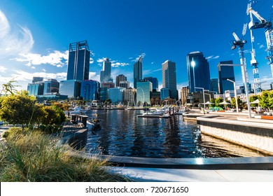 Urban landscape of Perth Australia
