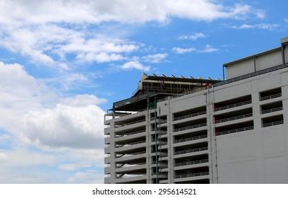 Urban multi-storey car parking