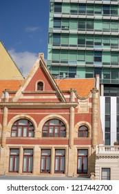 Urban scene of arquitecture in Australia