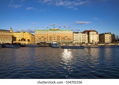 Urban scene - Stockholm, Sweden