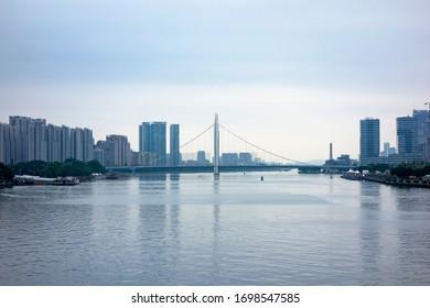 Urban scenery of Guangzhou, China