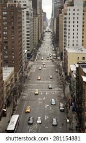 Urban traffic in Manhattan, NYC