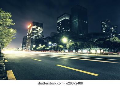 The urban traffic in modern city,china
