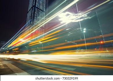 The urban traffic at shenzhen,china