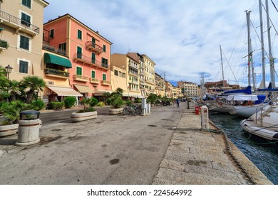 urban view in Portoferraio in Isle of Elba, Tuscany, italy