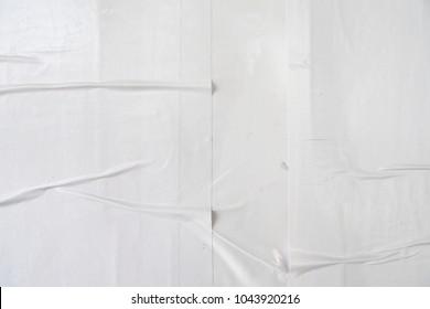 urban white wrinkled poster texture