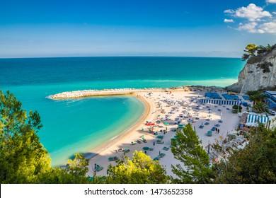 Urbani Beach - Sirolo, Ancona, Marche, Italy, Europe