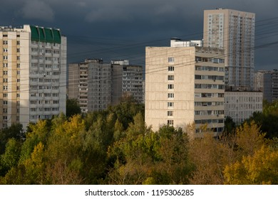 URBANISTIC LANDSCAPE of Moscow - the green city