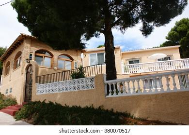 Urbanization Karasketa. Costa Blanca Spain. House