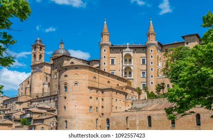 Urbino, city and World Heritage Site in the Marche region of Italy.
