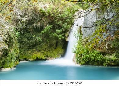 Urederra river, Navarra, Spain