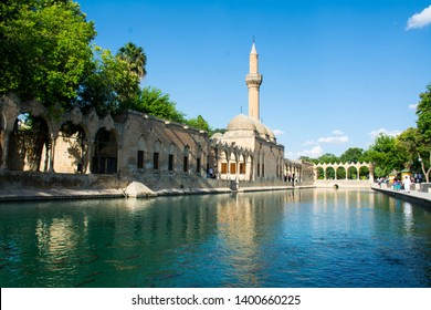 URFA/TURKEY-MAY 24 2018: Balikligol in Urfa
