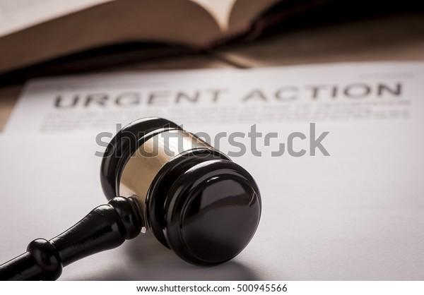 Urgent Action Title On Documents