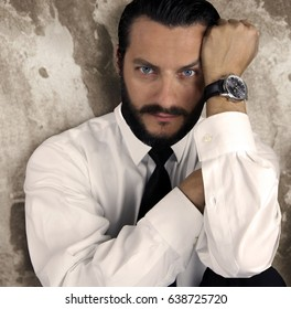 Uriel Blue Eyes beard model