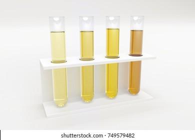 Urine testing tubes