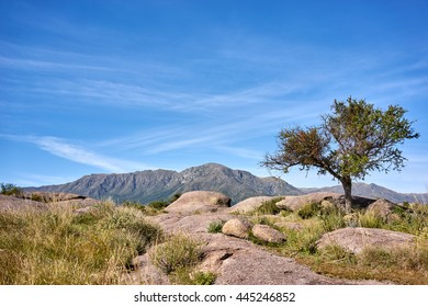 Uritorco mount, Capilla del Monte, Cordoba, Argentina, South America. UFO and alien entusistics meetopoint