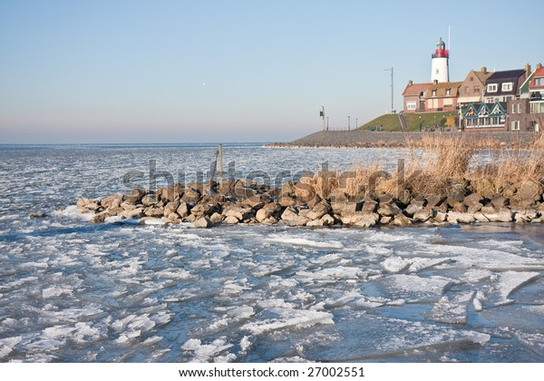 Urk isolated in ice