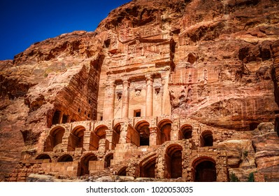 The Urn Tomb at Petra, Jordan