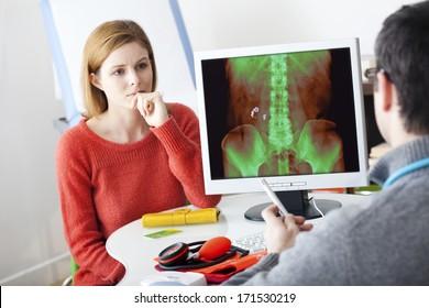 Urology Consultation Woman