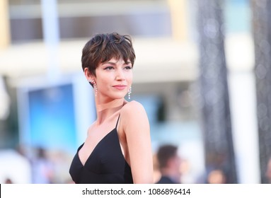 Ursula Corbero attends the opening gala during the 71st annual Cannes Film Festival at Palais des Festivals on May 8, 2018 in Cannes, France.