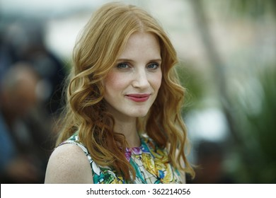 US actress Jessica Chastain poses during the photocall of 'Madagascar 3 Europe's Most Wanted' presented out of competition at the 65th Cannes film festival on May 18, 2012 in Cannes.