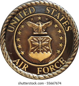 US Air Force commemorative plaque