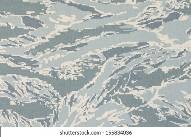 US air force digital tigerstripe camouflage fabric texture background