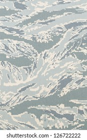 US air force tiger stripe digital camouflage fabric texture background