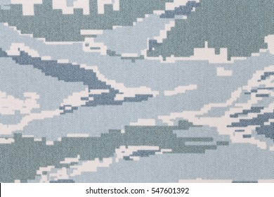 US air force tigerstripe digital camouflage fabric texture background
