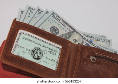 us American dollar in the wallet