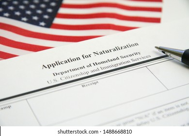 US Application for Naturalization Documents