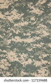 US army acu digital camouflage fabric texture background