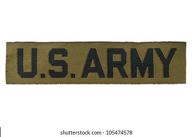 US Army identifying tag.