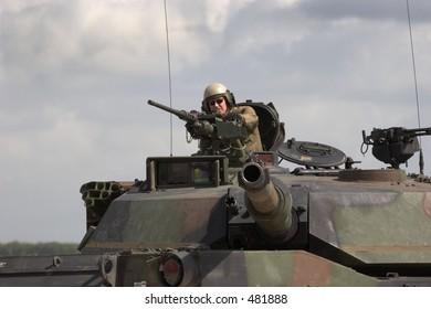 US Army M1 Abrams tank