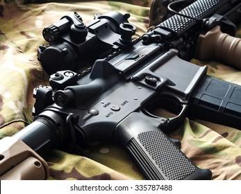 U.S. Army M4 rifle