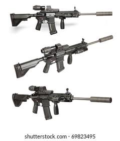 Sniper Rifles Images Stock Photos Vectors