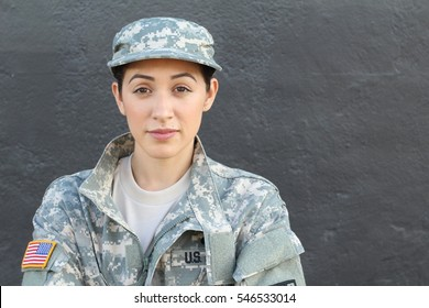 U.S. Army Soldier, Sergeant. Isolated close up showing stress, PTSD or sadness.