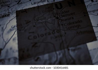 US Atlas closeup