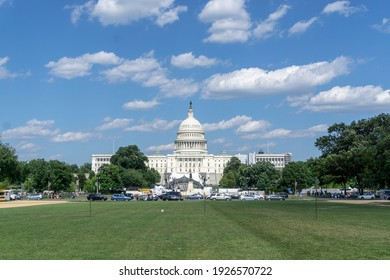 US Capitol with a bright future like the weather