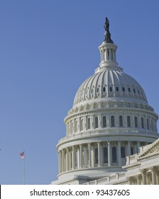 US Capitol Building, Dome Close up view, Washington DC