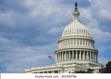 US Capitol Building dome  - Washington DC, USA