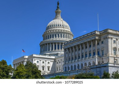 The US Capitol Building in Washington, DC, USA
